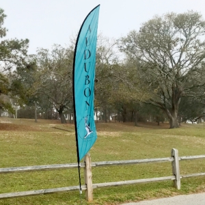 """OUTREACH COMMITTEE'S AUDUBON """"RALLY"""" FLAG © MICHAEL BROWER"""